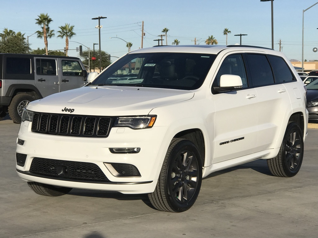 Jeep Cherokee Altitude >> New 2018 JEEP Grand Cherokee High Altitude Sport Utility in Yuma #19719 | Fisher Chrysler Dodge ...